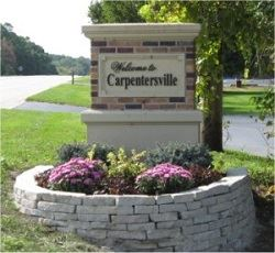 Welcome to Carpentersville Sign