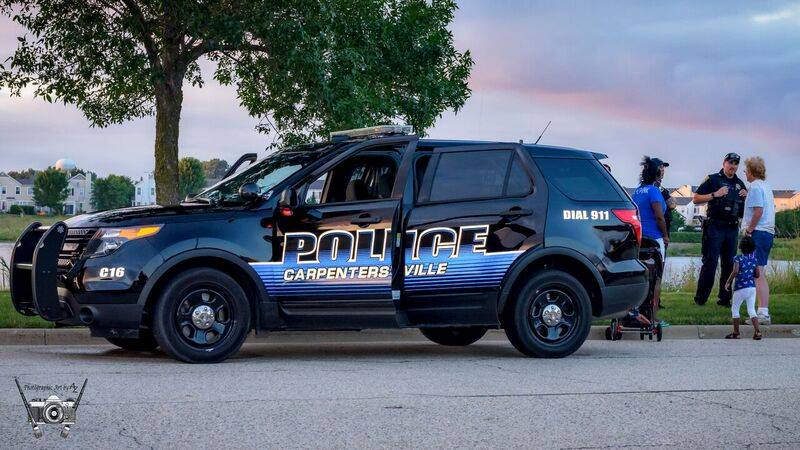 CPD SUV color